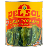 Poblano Whole 2,8 kg